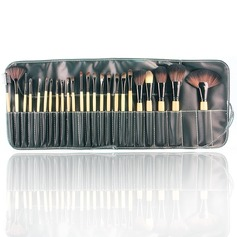 High Quality Top Wood  Makeup Brush (24 Pcs)
