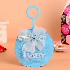 """Baby"" Handbag shaped Favor Bags With Bow (Set of 12)"