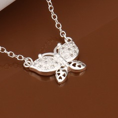 Lovely Silver Plated Ladies' Fashion Necklace