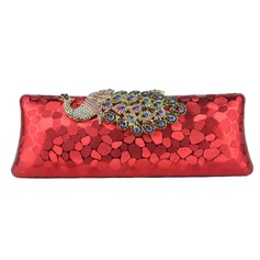 Elegant Sequin/PU With Crystal/ Rhinestone Clutches/Evening Handbags