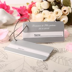 Personalized Simple Stainless Steel Luggage Tags