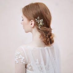 Lovely Crystal/Alloy/Imitation Pearls/Copper Hairpins