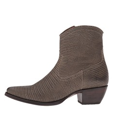 Women's Leatherette Low Heel Pumps Closed Toe Boots Ankle Boots shoes
