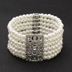 Fashional Alloy/Imitation Pearls Ladies' Bracelets