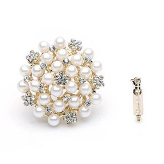 Gorgeous Alloy/Pearl/Rhinestones Ladies' Body Jewelry