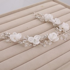 Fashion Crystal/Rhinestone/Artificial Silk Headbands