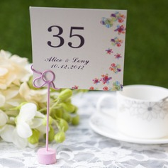 Personalized Artistic Card Paper Table Number Cards (Set of 10)