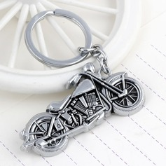 Cool Motorcycle Design Chrome Keychains