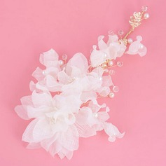 Flower Shaped Alloy Headbands