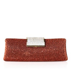 Gorgeous Satin With Sequin/Rhinestone Clutches