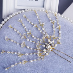 Fashion Crystal/Pearl Hairpins