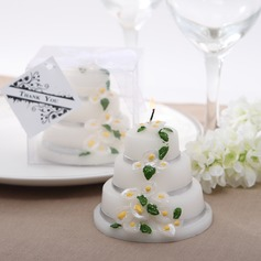 Lovely Lily Design Candle