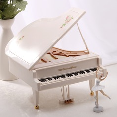 Piano Design Plastic/Metal Music Box
