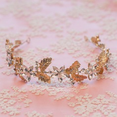 Pretty Rhinestone/Alloy/Copper Headbands