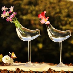 """Love Bird"" Glass Vase"