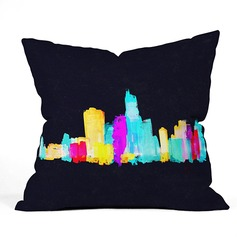 Modern/Contemporary Casual Cotton Velvet Pillows & Throws (Sold in a single piece)