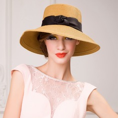 Ladies' Special Summer Papyrus With Bowknot Straw Hat