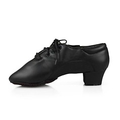 Men's Kids' Leatherette Flats Ballroom Dance Shoes