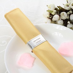 Personalized Simple Design Zinc Alloy Napkin Ring