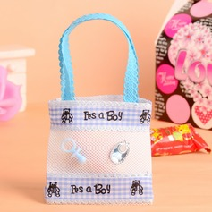 """Sweet Love"" Handbag shaped Favor Bags With Ribbons (Set of 12)"