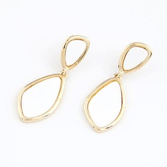 Beautiful Alloy Coloured Glaze Ladies' Fashion Earrings