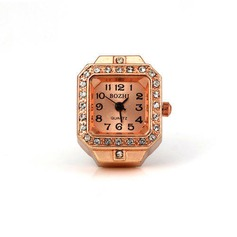 Shining Alloy With Rhinestone Ladies' Watches