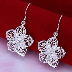 Beautiful Silver Plated Ladies' Fashion Earrings