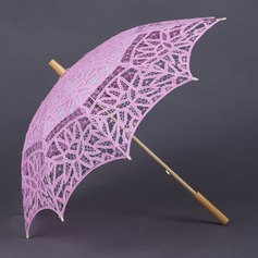 Lovely Cotton Wedding Umbrellas (124041498)