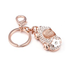 Vehicle Alloy/Rose Gold Plated Keychains