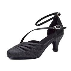 Women's Leatherette Heels Modern With Hollow-out Dance Shoes