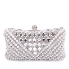 Gorgeous PU With Crystal/ Rhinestone/Imitation Pearl Clutches