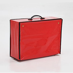 Elegant Faux Leather Garment Bag  (035024123)