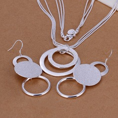 Fashional Silver Plated Ladies' Jewelry Sets