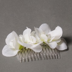 Elegant Tissue Combs & Barrettes/Flowers & Feathers