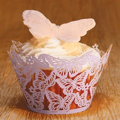 Butterfly Laser-cut Cupcake Wrapper