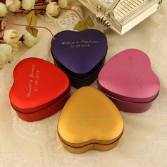 Personalized Heart-shaped Favor Tin (Set of 24)