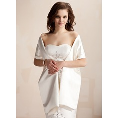 Satin Wedding Shawl
