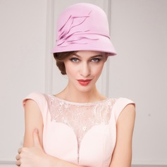 Ladies' Lovely Autumn/Winter Wool With Bowler/Cloche Hat