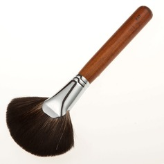 Top Mahogany Fan Blush Brush