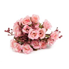 Elegant Cloth Flower Table Centerpieces