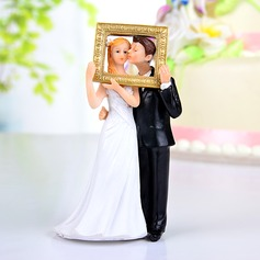 Funny & Reluctant Resin Wedding Cake Topper (122036185)