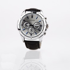 Personalized Leatherette/Alloy Sports Watch With Rhinestone