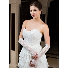 Lace Elbow Length Party/Fashion Gloves/Bridal Gloves