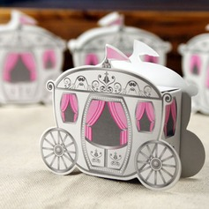 Enchanted Carriage Cuboid Favor Boxes (Set of 12)