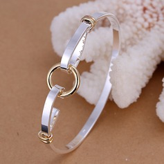 Silver Plated Copper Rose Gold Plated Ladies' Fashion Bracelets