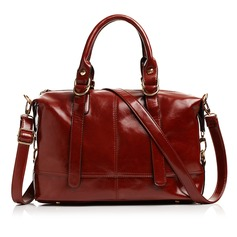 Shining Faux Leather With Rivet Fashion Handbags