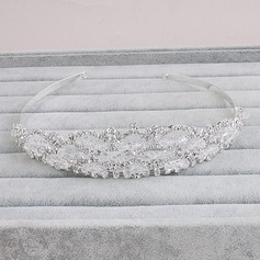 Glamourous Alloy Tiaras (Sold in single piece)