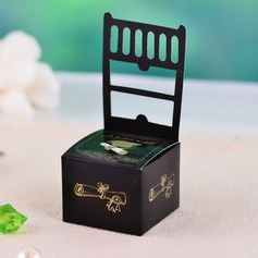 Elegant Chair design Favor Boxes (Set of 12)