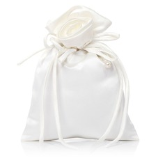 Gorgeous Satin With Imitation Pearl/Lace Bridal Purse