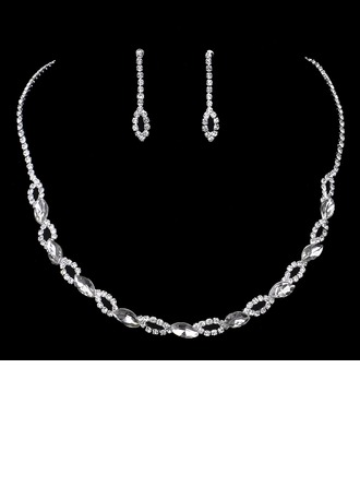 Elegant Rhinestones Ladies' Jewelry Sets